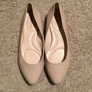 Kelly and Katie pointed toe flats